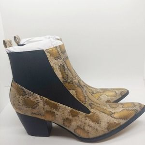 Sz 8M I COCONUTS BY MATISSE Kyoto Snakeskin Boots